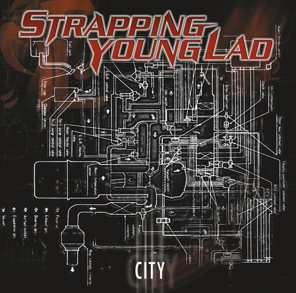 9: Strapping Young Lad – City